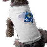 Graduado #1 camisas de mascota