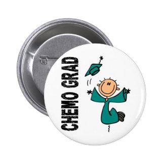 GRADUADO 1 (cáncer ovárico) del trullo CHEMO Pin