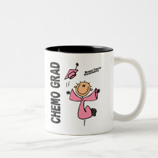 GRADUADO 1 del cáncer de pecho CHEMO Taza De Café
