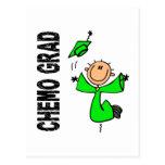 GRADUADO 1 (linfoma de la verde lima CHEMO de Non- Tarjetas Postales