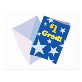 Graduado #1 postal
