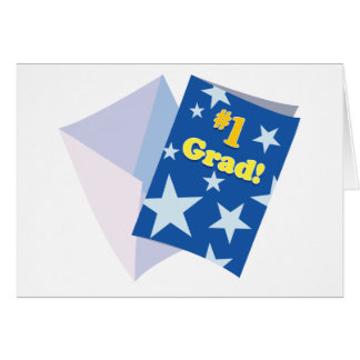 Graduado #1 tarjeta