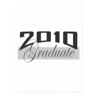 Graduado 2010 postal