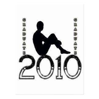Graduado 2010 tarjetas postales
