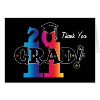 Graduado 2011 de la estrella felicitaciones