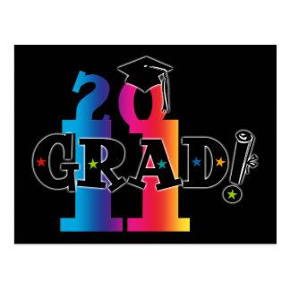 Graduado 2011 de la estrella postal