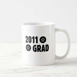 Graduado 2011 tazas de café