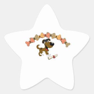 Graduado 2012 pegatina en forma de estrella