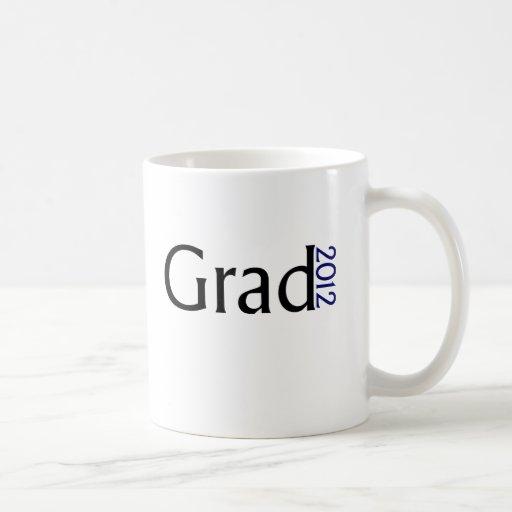 Graduado 2012 taza de café