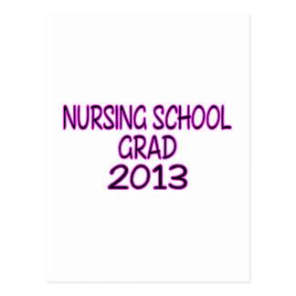 Graduado 2013 de la escuela de enfermería postales