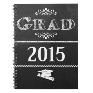 Graduado 2015 de la PIZARRA Libro De Apuntes