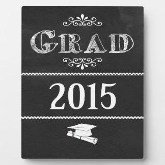 Graduado 2015 de la PIZARRA Placa De Madera