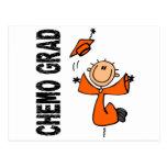 GRADUADO anaranjado 1 (cáncer de CHEMO del riñón) Postales