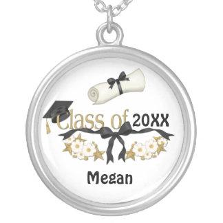 Graduado con clase 2015 collares personalizados