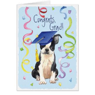 Graduado de Boston Tarjeta De Felicitación