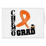 Graduado de Chemo de la leucemia Tarjeton