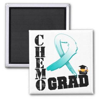 Graduado de Chemo del cáncer de cuello del útero Imán Cuadrado