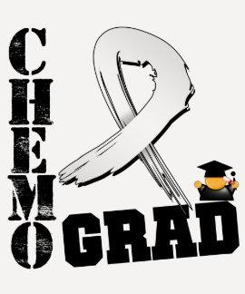 Graduado de Chemo del cáncer de hueso T Shirts