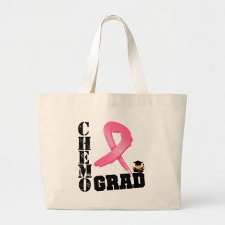 Graduado de Chemo del cáncer de pecho Bolsa Tela Grande