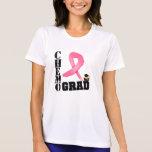 Graduado de Chemo del cáncer de pecho Camiseta