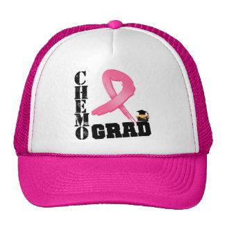 Graduado de Chemo del cáncer de pecho Gorro De Camionero