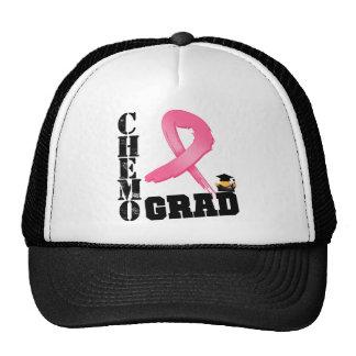Graduado de Chemo del cáncer de pecho Gorros
