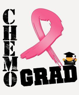 Graduado de Chemo del cáncer de pecho Camisetas
