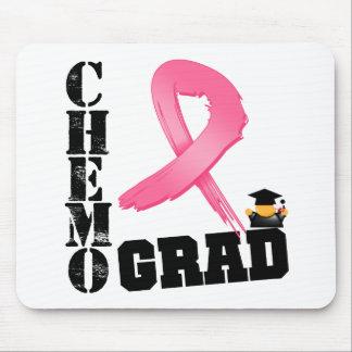 Graduado de Chemo del cáncer de pecho Tapetes De Ratón