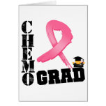 Graduado de Chemo del cáncer de pecho Tarjeta
