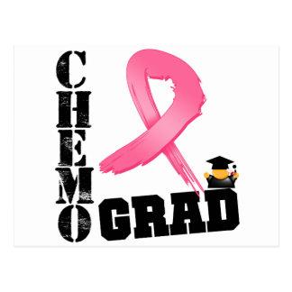 Graduado de Chemo del cáncer de pecho Tarjetas Postales