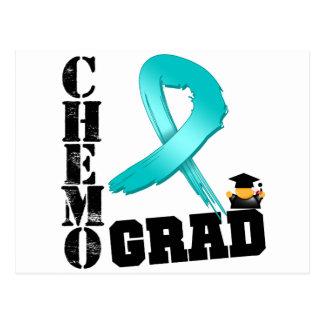 Graduado de Chemo del cáncer ovárico Postales