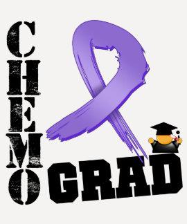 Graduado de Chemo del linfoma de Hodgkin Camisetas