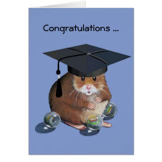 Graduado de Congrats: Hámster: Todo vetea intacto Tarjetón