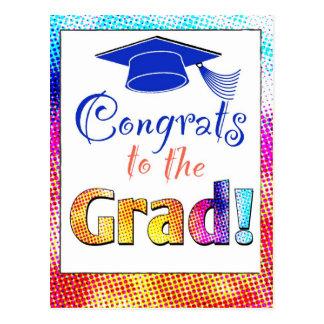 Graduado de Congrats Tarjetas Postales