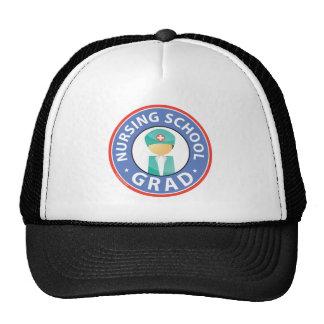 Graduado de la escuela de enfermería gorras de camionero