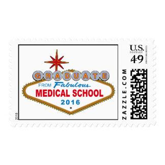 Graduado de la Facultad de Medicina fabulosa 2016 Sellos Postales