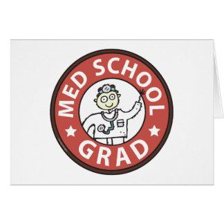 Graduado de la Facultad de Medicina (varón) Tarjeta De Felicitación
