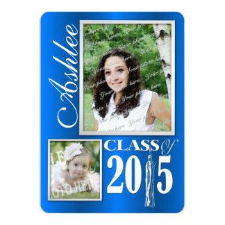 "Graduado de la foto 2015 de la borla invitación 5"" x 7"""