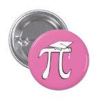 Graduado de la matemáticas pi - rosa y blanco