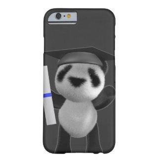 graduado de la panda del bebé 3d (editable) funda para iPhone 6 barely there