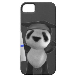 graduado de la panda del bebé 3d (editable) iPhone 5 fundas