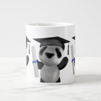 graduado de la panda del bebé 3d (editable) taza grande