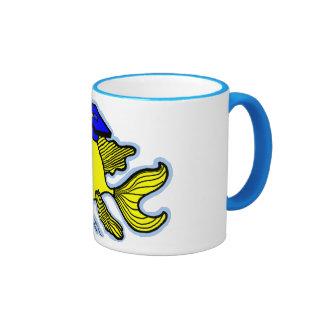 Graduado de los pescados de la graduación tazas de café