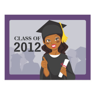 Graduado del afroamericano postal