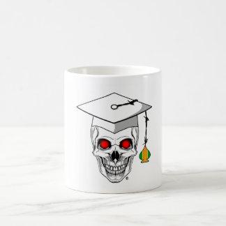 Graduado del as de Vietnam/taza de café del cráneo