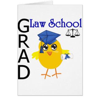 Graduado del colegio de abogados tarjetas