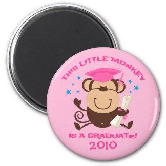 Graduado del mono del chica iman