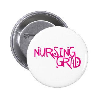 Graduado del oficio de enfermera pin redondo 5 cm