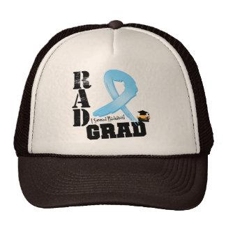 Graduado del RAD de la radioterapia del cáncer de  Gorras