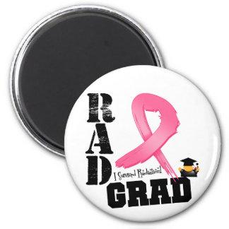 Graduado del RAD de la radioterapia del cáncer de  Imán Redondo 5 Cm